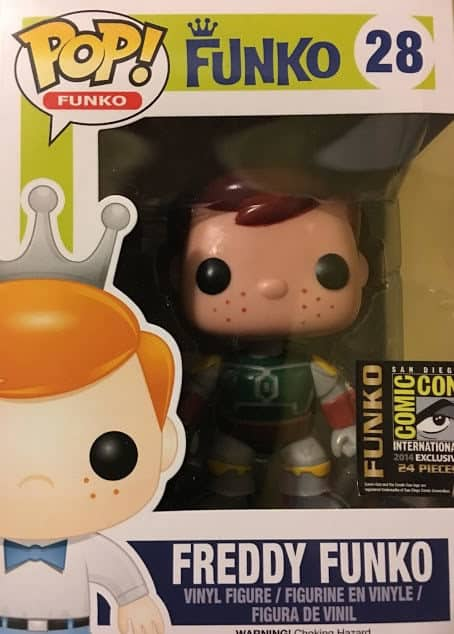 Most Expensive Funko Pops - Boba Fett Freddy Funko (Red Hair)