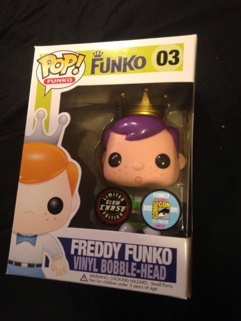 Most Expensive Funko Pops - Buzz Lightyear Freddy Funko GITD