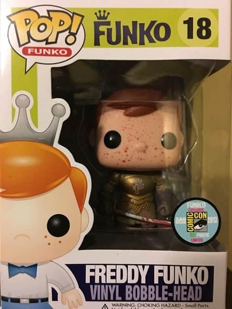 Most Expensive Funko Pops - Jaime Lannister Freddy Funko (Bloody)
