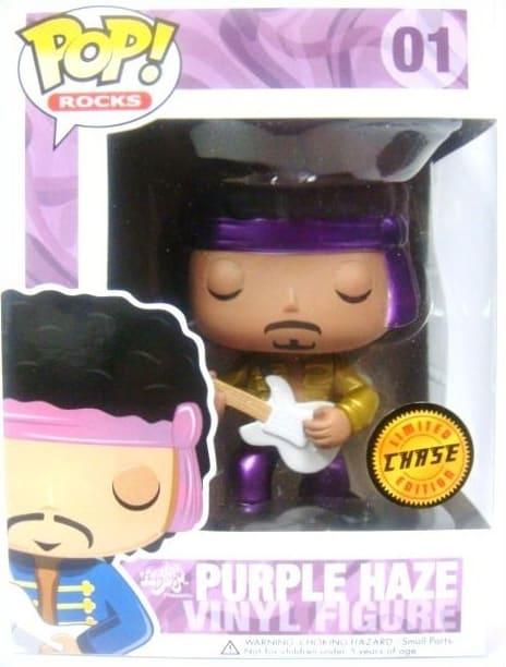 Most Expensive Funko Pops - Jimmi Hendrix Purple Haze Metallic
