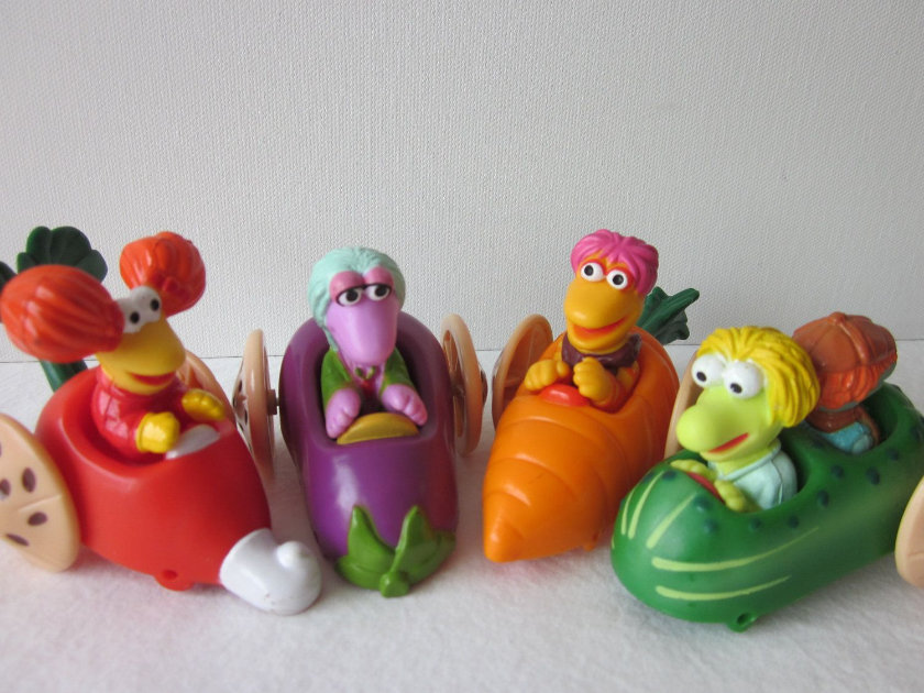 Most Expensive Happy Meal Toys - Fraggle Rock (1992)