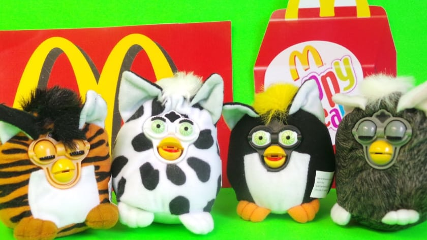Most Expensive Happy Meal Toys - Furby (2000)