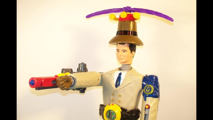 Most Expensive Happy Meal Toys - Inspector Gadget (1995)