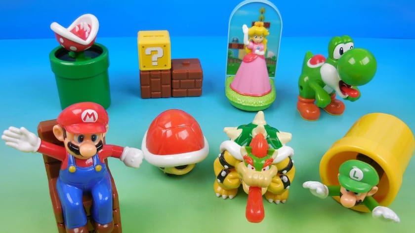 Most Expensive Happy Meal Toys - Mario (1994 & 1998)