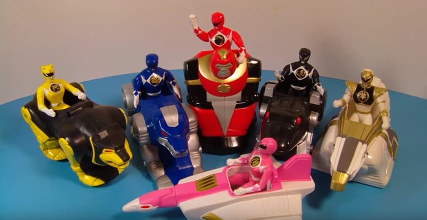 Most Expensive Happy Meal Toys - Power Rangers (1994)