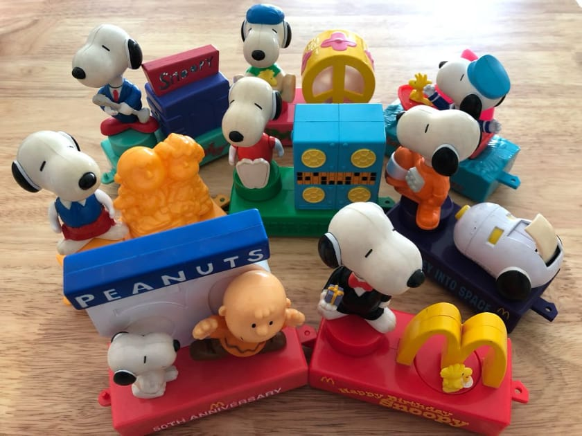 Most Expensive Happy Meal Toys - Snoopy (2000)