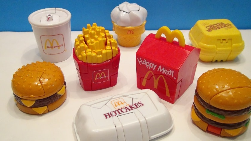 Most Expensive Happy Meal Toys - Transforming Food (1987 & 1989)