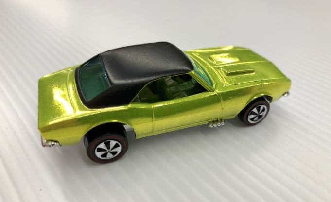 Most Expensive Hot Wheels - 1968 Over Chrome Camaro