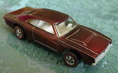 Most Expensive Hot Wheels - 1969 Brown Custom Charger