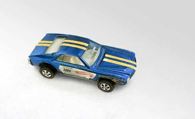 Most Expensive Hot Wheels - 1969 Ed Shaver Blue AMX