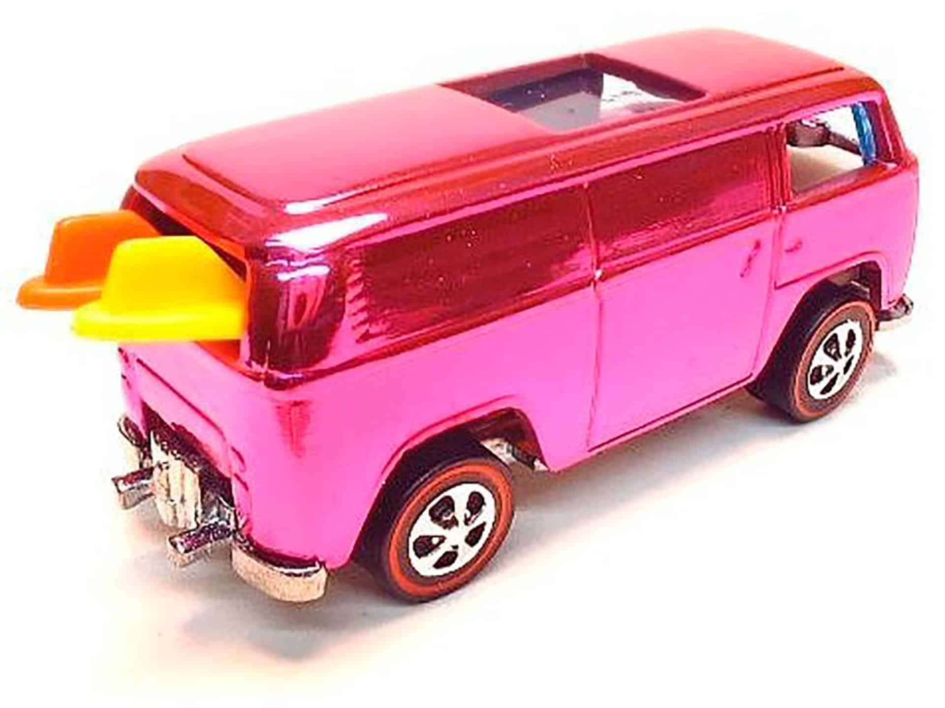 Most Expensive Hot Wheels - 1969 Pink VW Beach Bomb