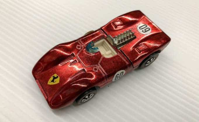 Most Expensive Hot Wheels - 1970 Red Ferrari 312P (White Interior)