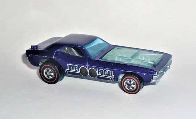 Most Expensive Hot Wheels - 1971 Spectraflame Purple Bye-Focal