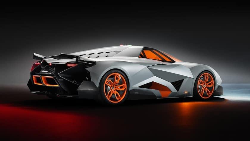 Most Expensive Lamborghinis - Egoista Concept