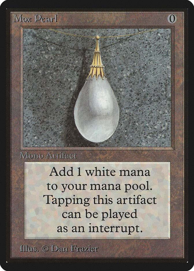 Most Expensive MTG Cards - Mox Pearl