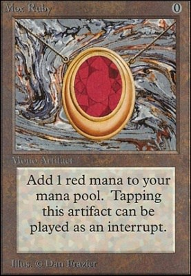 Most Expensive MTG Cards - Mox Ruby