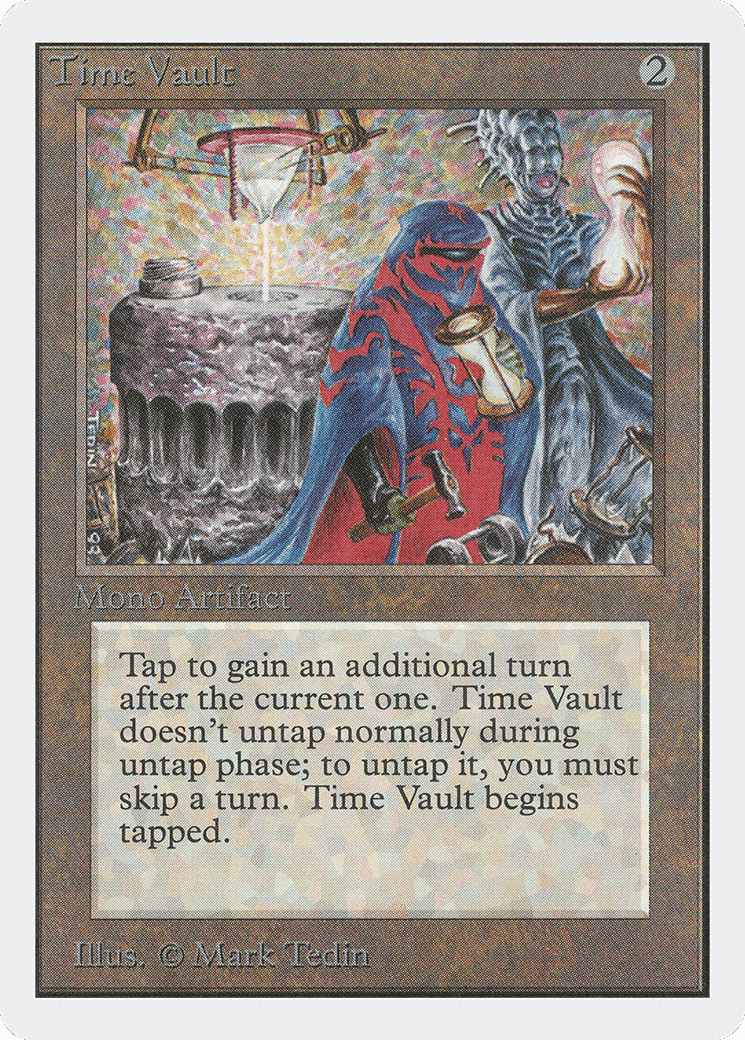 Most Expensive MTG Cards - Time Vault