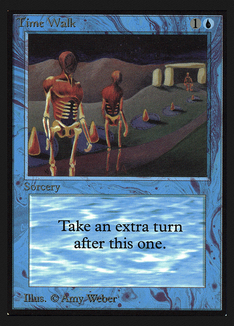 Most Expensive Magic The Gathering Cards - Time Walk