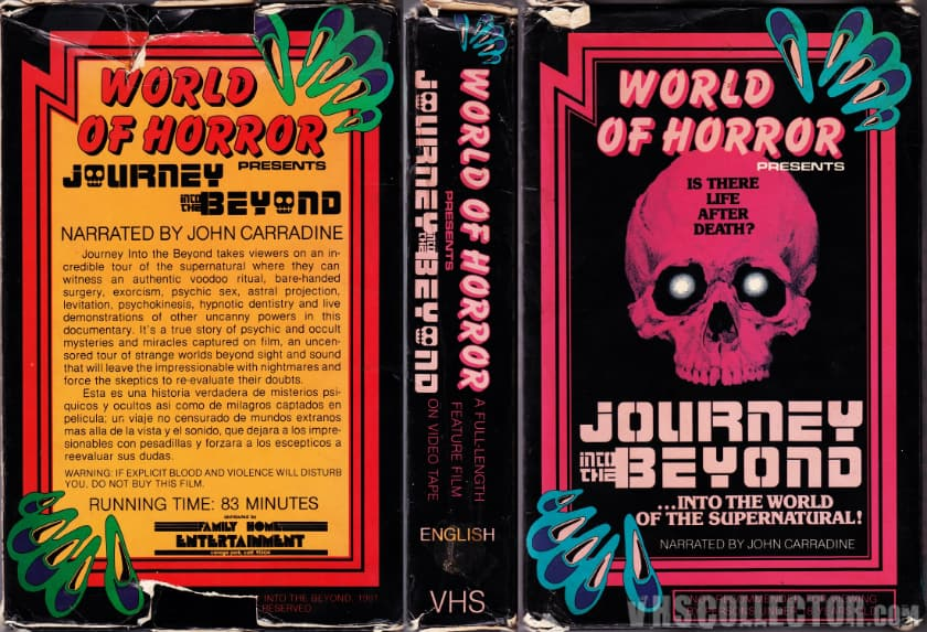 Most Expensive VHS Tapes - Journey Into The Beyond