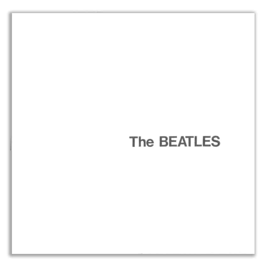 Most Expensive Vinyl Records - The Beatles- The Beatles (White Album)