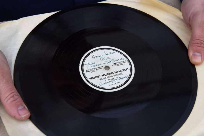 Most Expensive Vinyl Records - The Beatles- 'Till There Was You' (10 Acetate)