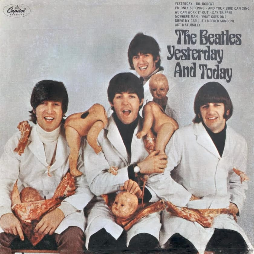 Most Expensive Vinyl Records - The Beatles- Yesterday & Today