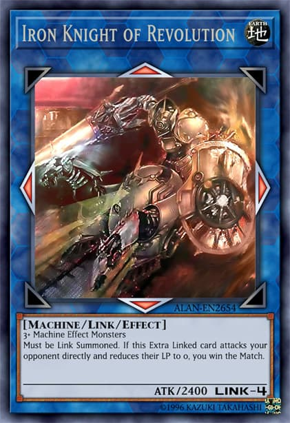 Most Expensive Yu Gi Oh! Cards - Iron Knight of Revolution