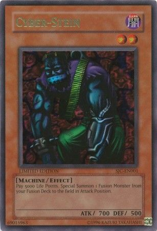 Most Expensive Yu Gi Oh! Cards - Special Edition Cyber Stein