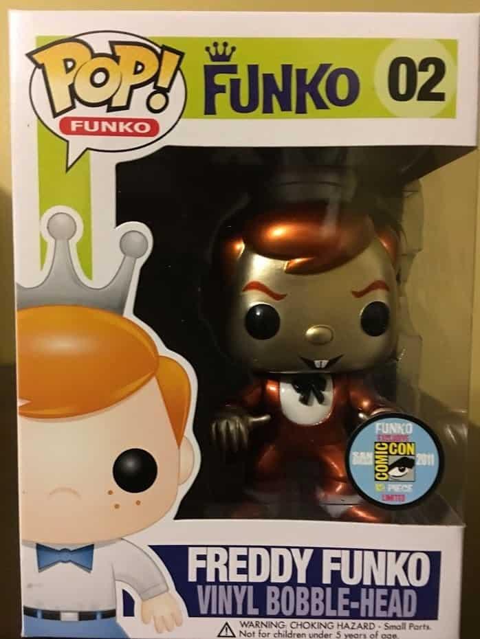 Most Valuable Funko Pop Vinyls - Count Chocula Freddy Funko (Metallic)