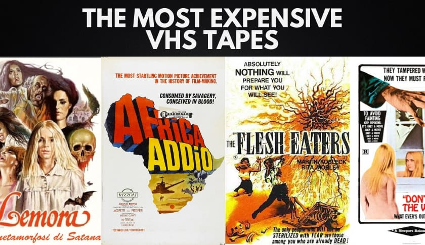 The 10 Most Expensive VHS Tapes
