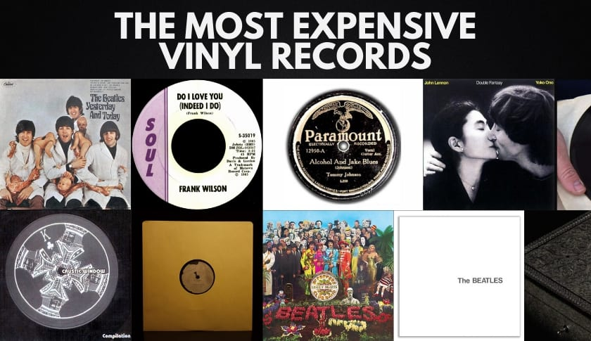 The 10 Most Expensive Vinyl Records