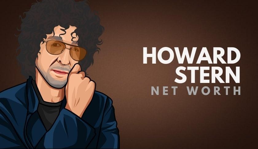 Howard Stern S Net Worth In 2020 Wealthy Gorilla