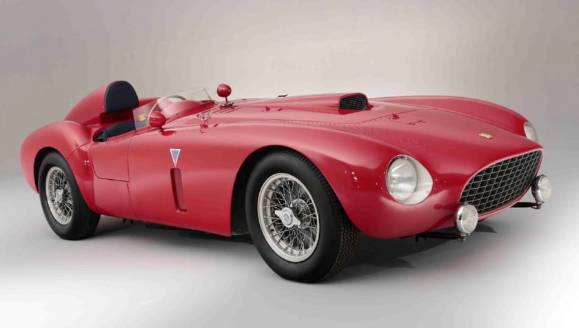 Most Expensive Ferraris - 1954 Ferrari 375-Plus Spider Competizione