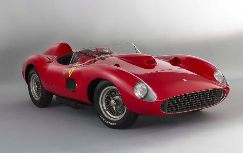 Most Expensive Ferraris - 1957 Ferrari 335 S Scaglietti Spider
