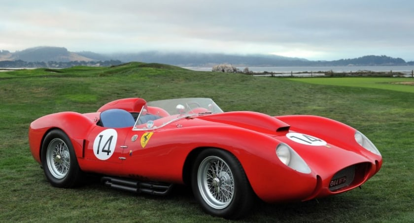 Most Expensive Ferraris - 1958 Ferrari 250 Testa Rossa