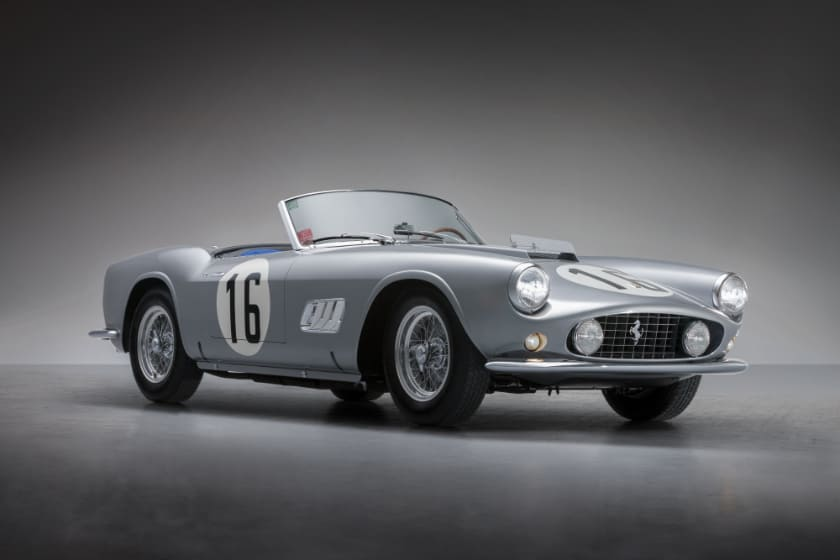 Most Expensive Ferraris - 1959 Ferrari 250 GT LWB California Spider Competizione
