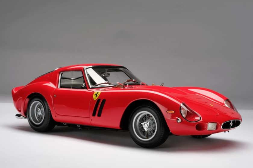Most Expensive Ferraris - 1962 Ferrari 250 GTO