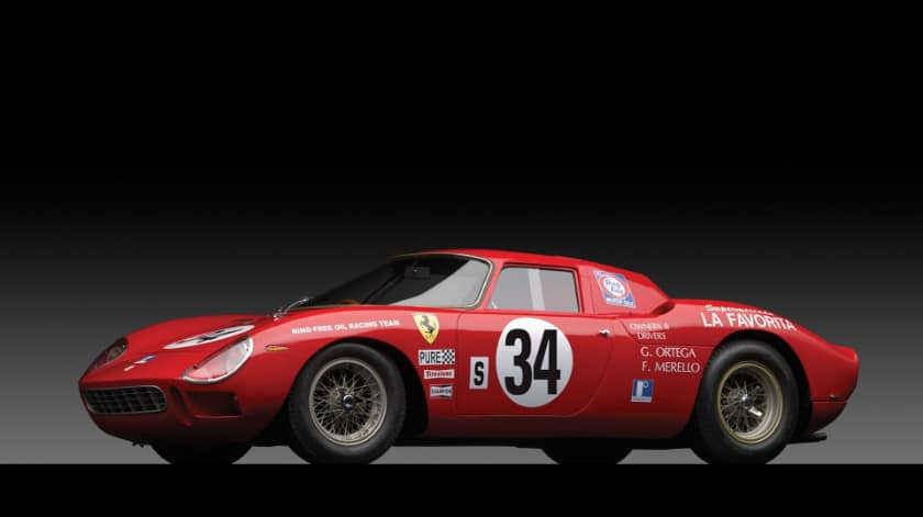 Most Expensive Ferraris - 1964 Ferrari 250 LM