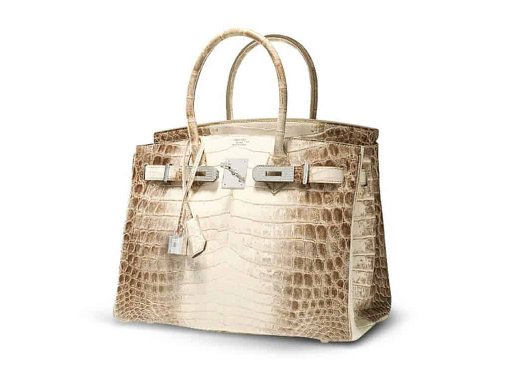 The most expensive handbags - Hermes