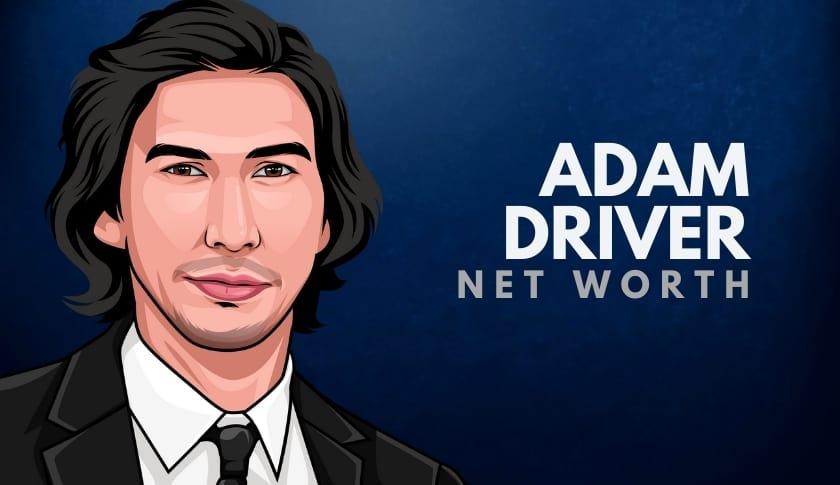 Adam Driver Net Worth