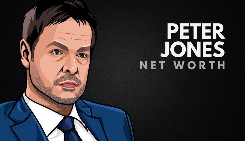 Peter Jones' Net Worth