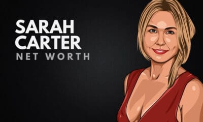 Sarah Carter's Net Worth