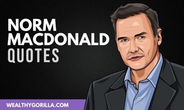 50 Amazing Norm MacDonald Quotes