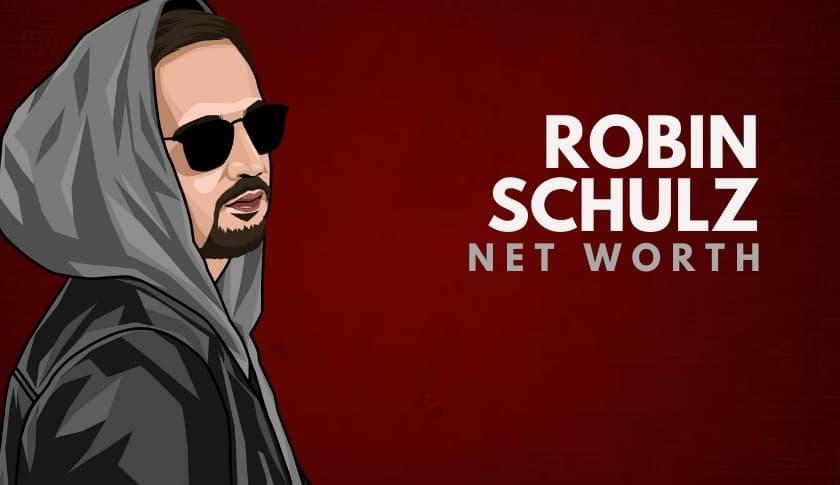Robin Schulz Net Worth