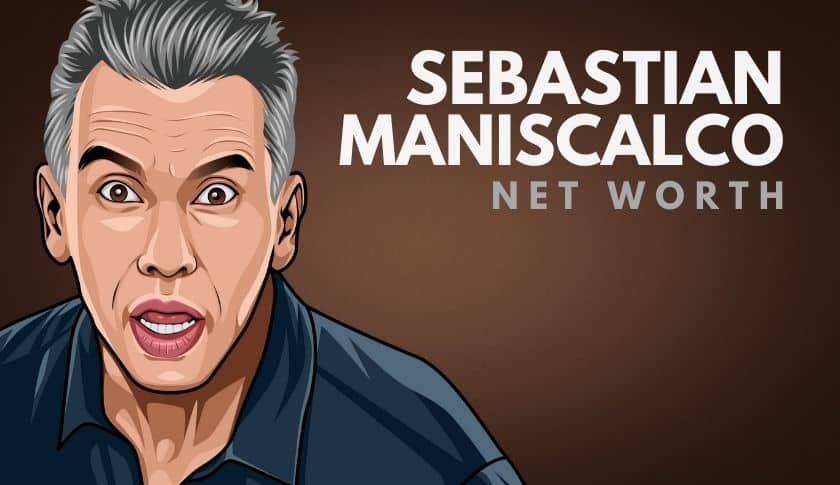 Sebastian Maniscalco Net Worth