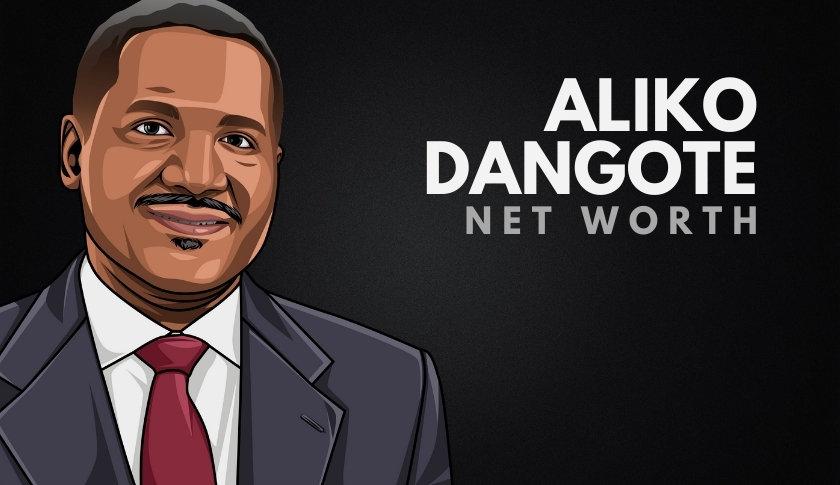 Aliko Dangote Net Worth