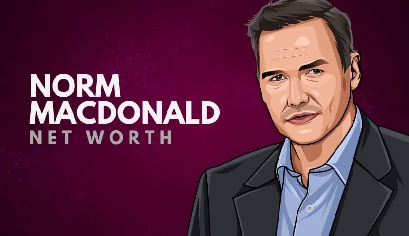 Norm MacDonald Net Worth
