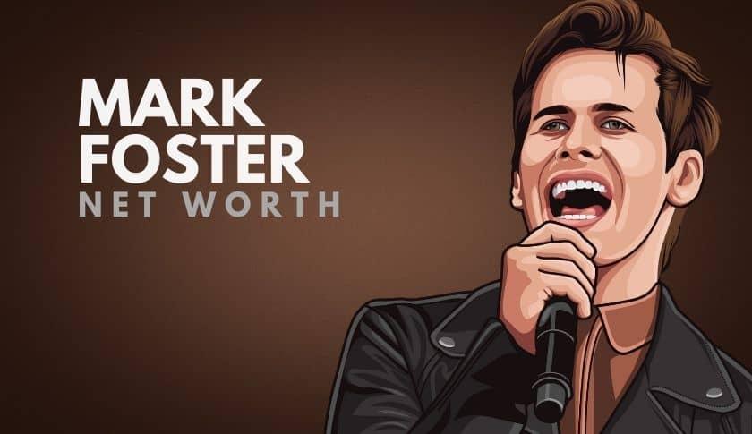 Mark Foster Net Worth