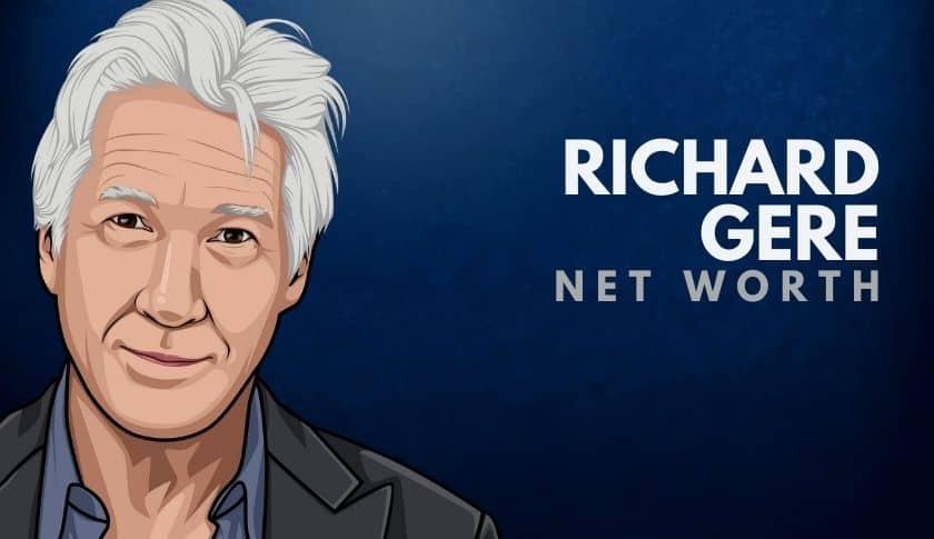 Richard Gere Net Worth