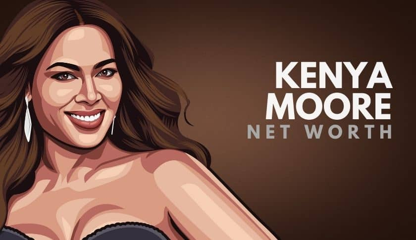 Kenya Moore Net Worth